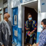 O Provedor de Justiça de Cabo Verde visita a sede da OMCV